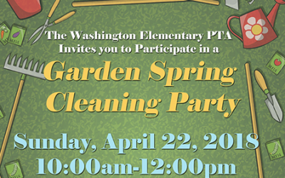 Garden Spring Cleaning Party – Sunday, April 22