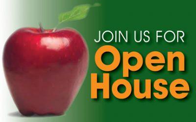 Open House Thursday, April 20th