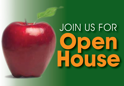 Open House Thursday, April 18th