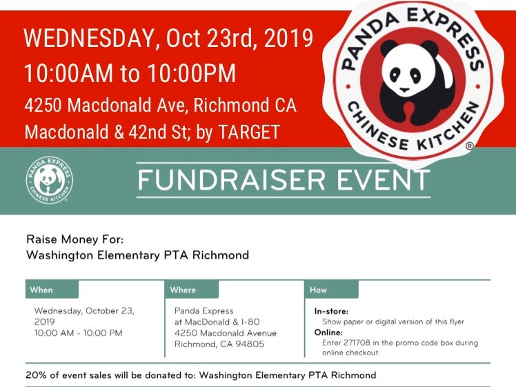 Panda Express Lunch or Dinner – TODAY!