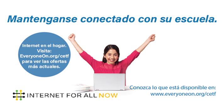 Conexión a Internet en el hogar accesible
