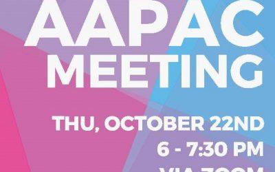 AAPAC Meeting – Thu Oct 22 6pm
