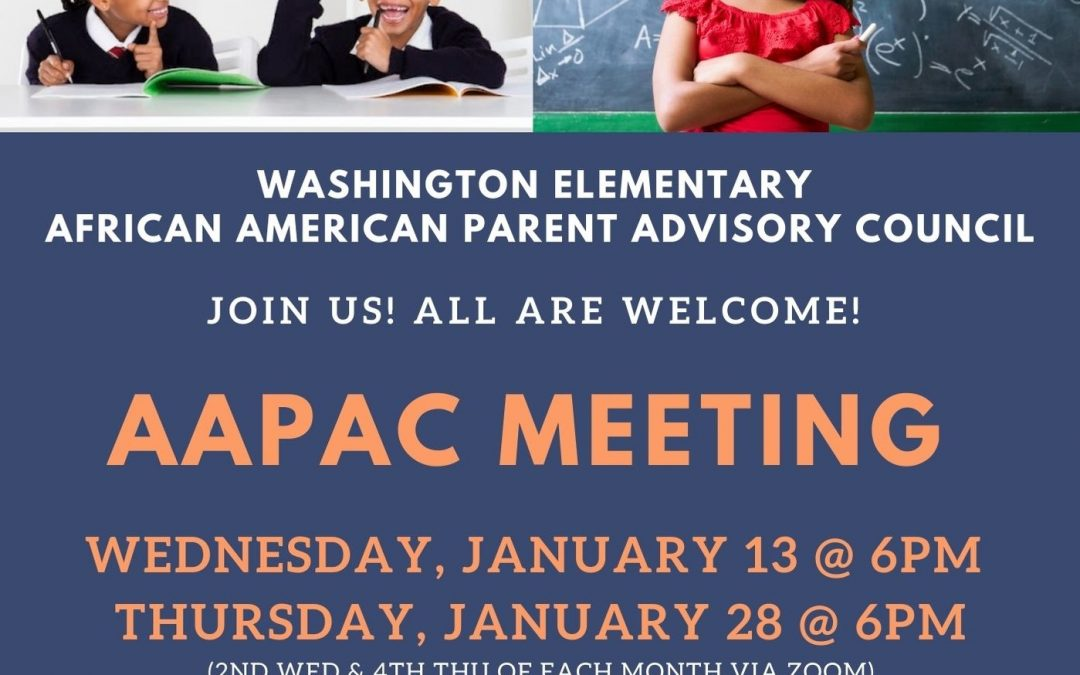 AAPAC Meetings – Jan 13 & 28 – 6pm