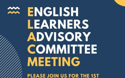 Reunion de ELAC 1/26 o 1/27 – ELAC meeting 1/26 or 1/27
